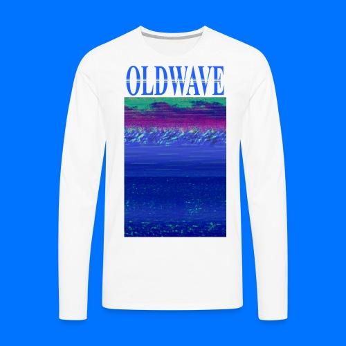 OLDWAVE Ocean View - Men's Premium Longsleeve Shirt