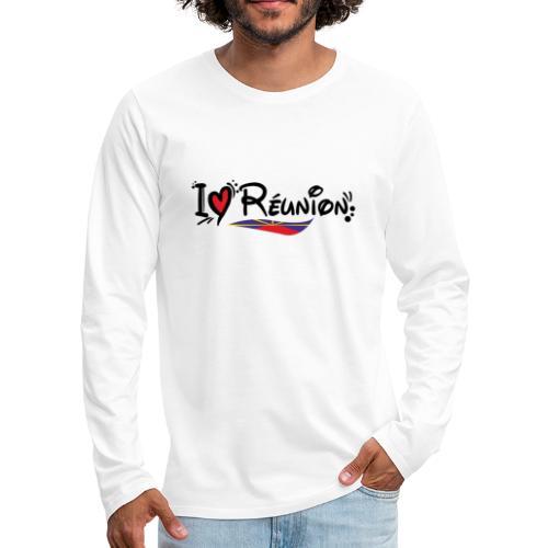 i love Réunion - MAHAVELI - T-shirt manches longues Premium Homme