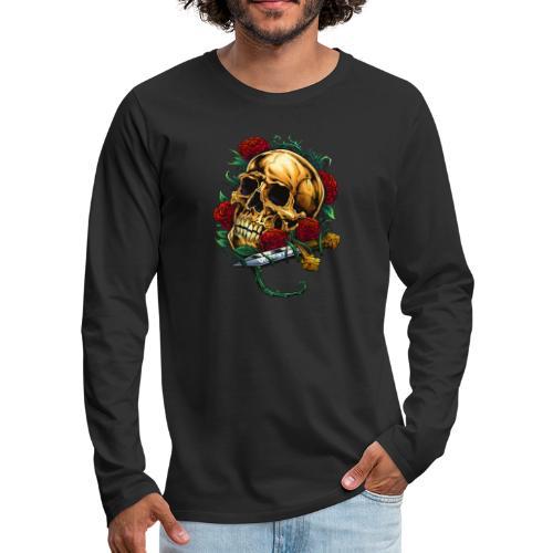 Valexio Raider - Långärmad premium-T-shirt herr