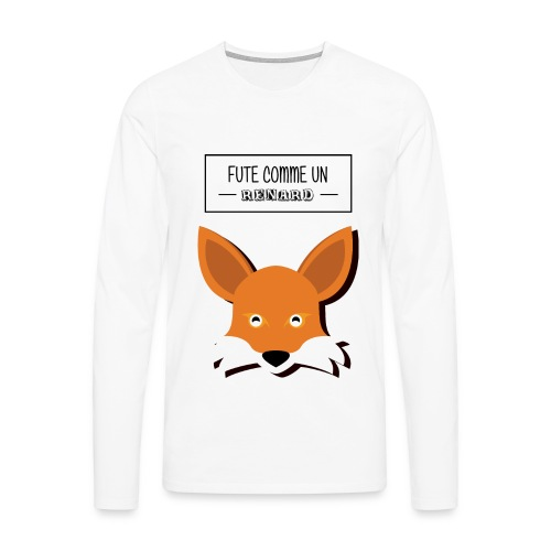 Fûté comme un renard - T-shirt manches longues Premium Homme