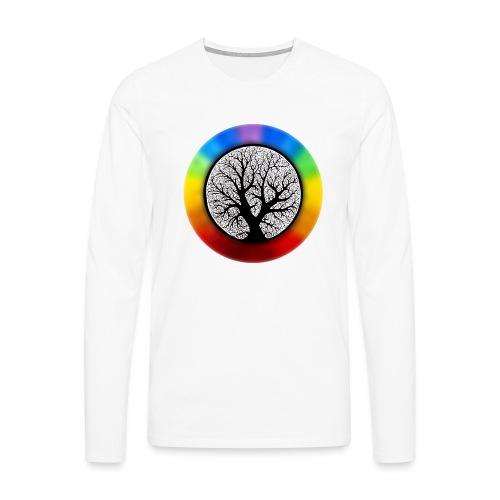 tree of life png - Mannen Premium shirt met lange mouwen