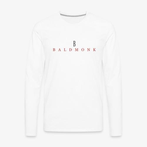 Baldmonk Classic Logo - Men's Premium Longsleeve Shirt