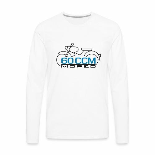 Moped sparrow 60 cc emblem - Men's Premium Longsleeve Shirt