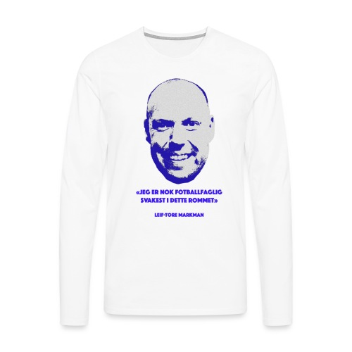 Markman - Premium langermet T-skjorte for menn