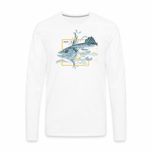 Bass 'n' Splash - Men's Premium Longsleeve Shirt