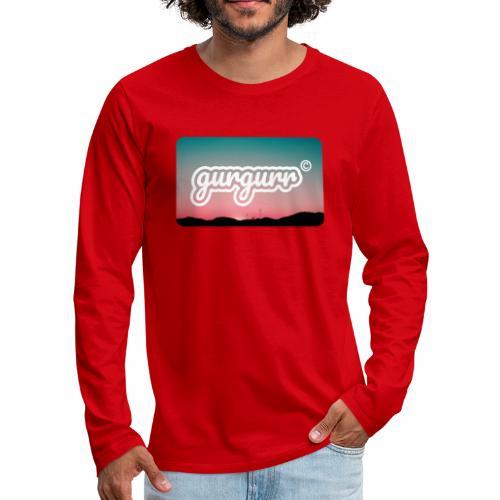 Kitschy Pigeon - Männer Premium Langarmshirt