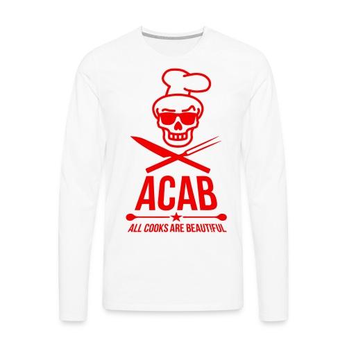 a.c.a.b. - Männer Premium Langarmshirt