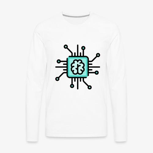 Brain chip - Men's Premium Longsleeve Shirt
