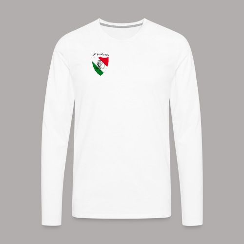 Wappen Struthonia (vorne) - Männer Premium Langarmshirt