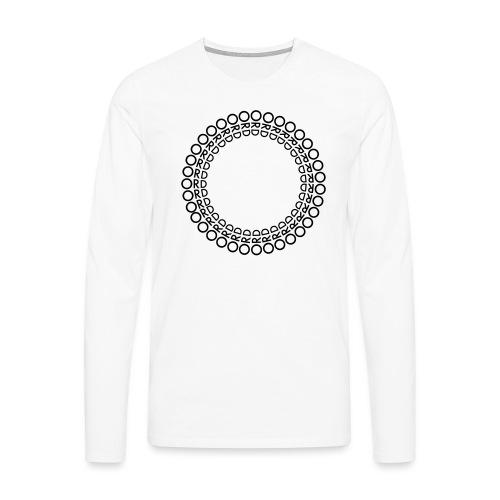 ORD I RING - Långärmad premium-T-shirt herr