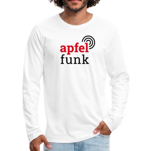 Apfelfunk Edition - Männer Premium Langarmshirt