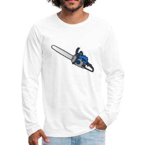 Kettensäge - Männer Premium Langarmshirt