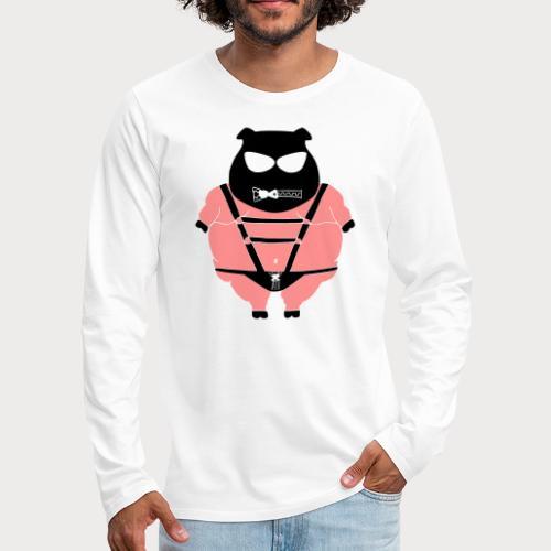 SM Schwein - Männer Premium Langarmshirt