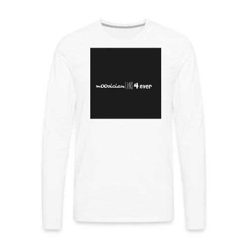 m00sicianFans4everLogo - Männer Premium Langarmshirt