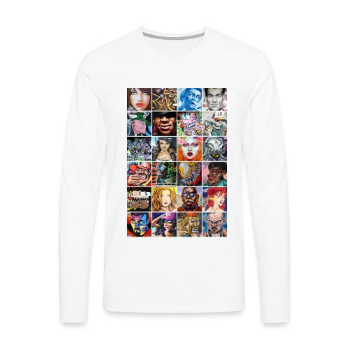 Graffiti Characters Design - T-shirt manches longues Premium Homme