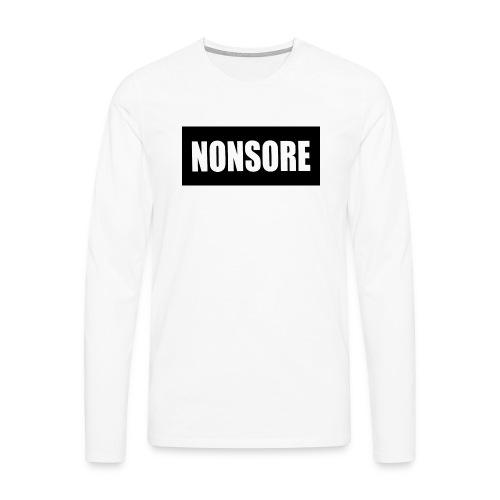 nonsore - Herre premium T-shirt med lange ærmer