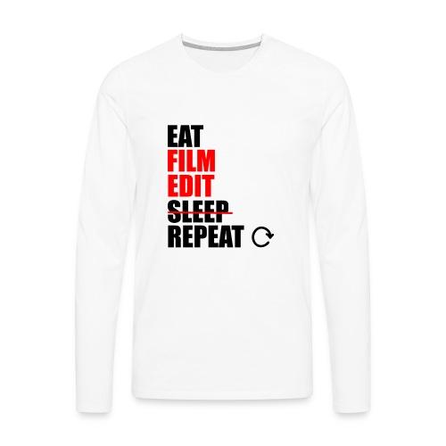 Life of a filmmaker - Männer Premium Langarmshirt