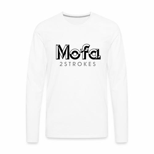 Mofa Logo Parody - 2 Strokes (v1) - Men's Premium Longsleeve Shirt