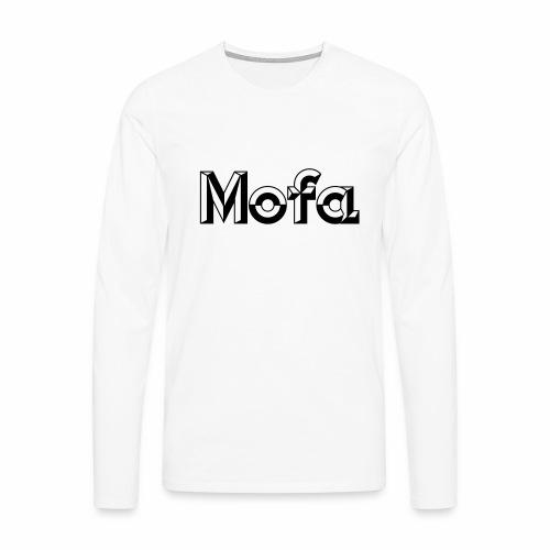 Moped Logo Parody (v1) - Men's Premium Longsleeve Shirt