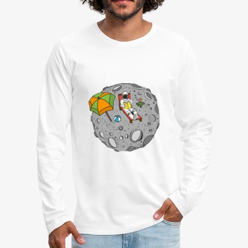 To the Moon - T-shirt manches longues Premium Homme
