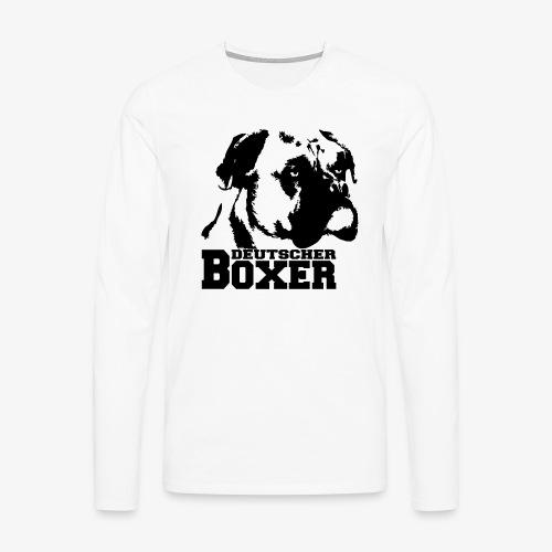 Deutscher Boxer - Männer Premium Langarmshirt
