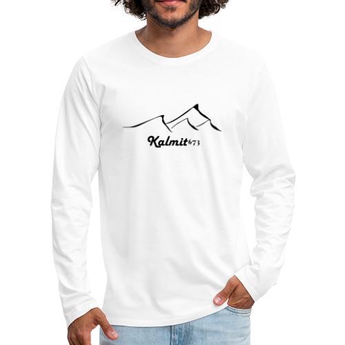 Kalmit 673 svg Berg - Männer Premium Langarmshirt