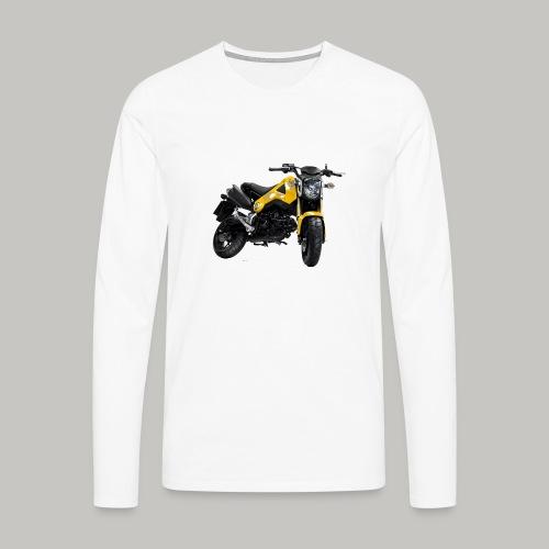 Grom Motorcycle (Monkey Bike) - Men's Premium Longsleeve Shirt