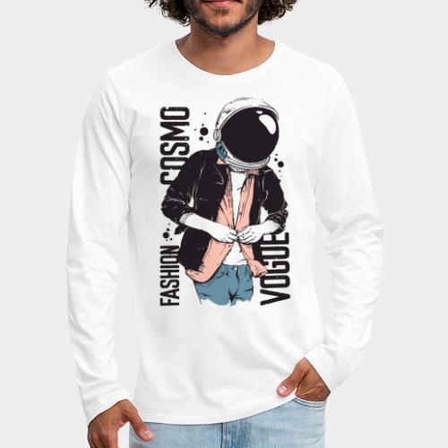 astronaut fashion style trend - T-shirt manches longues Premium Homme