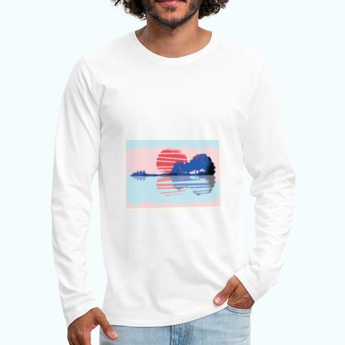Vintage graffiti - Men's Premium Longsleeve Shirt