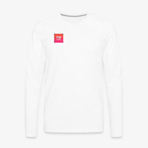 logo radiofm93 - Mannen Premium shirt met lange mouwen