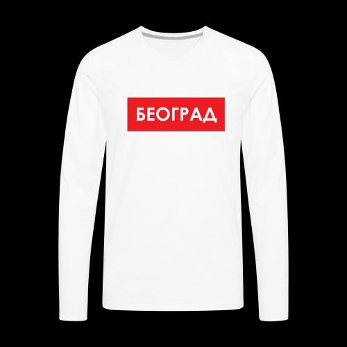 Beograd - Utoka - Männer Premium Langarmshirt