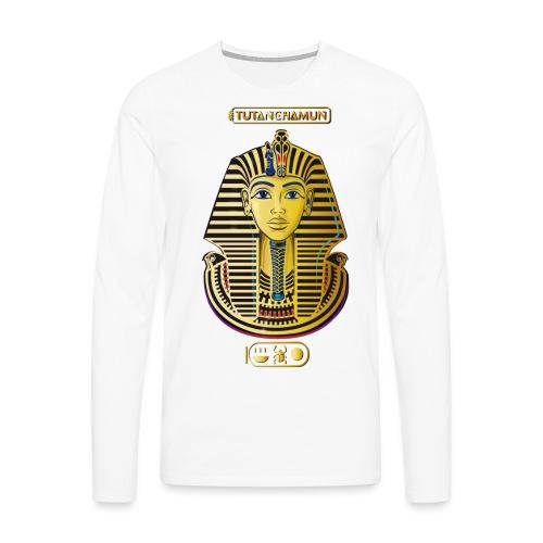 Tutanchamun I Goldmaske I Ägypten - Männer Premium Langarmshirt