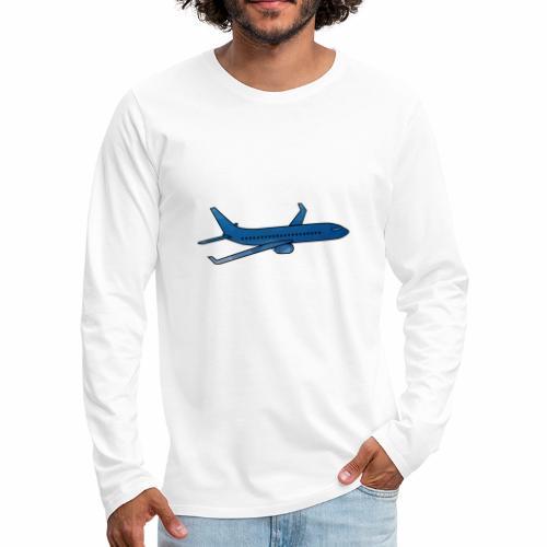 L'avion ! - T-shirt manches longues Premium Homme