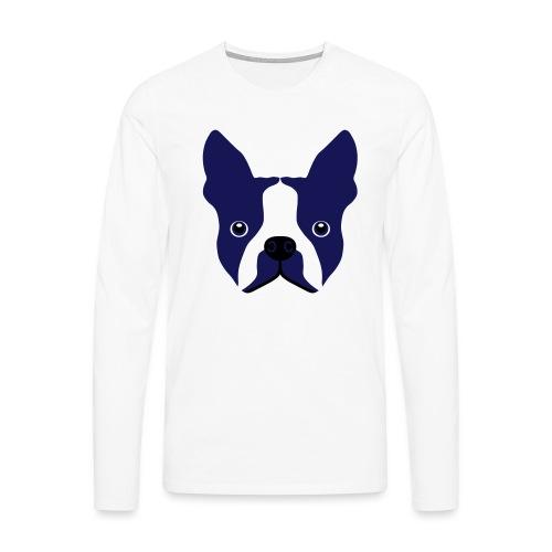 Französische Bulldogge - Männer Premium Langarmshirt