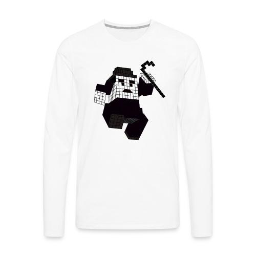 charlie - T-shirt manches longues Premium Homme
