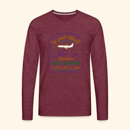 marrakeche - T-shirt manches longues Premium Homme