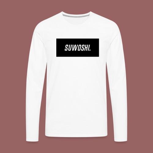 Suwoshi Sport - Mannen Premium shirt met lange mouwen