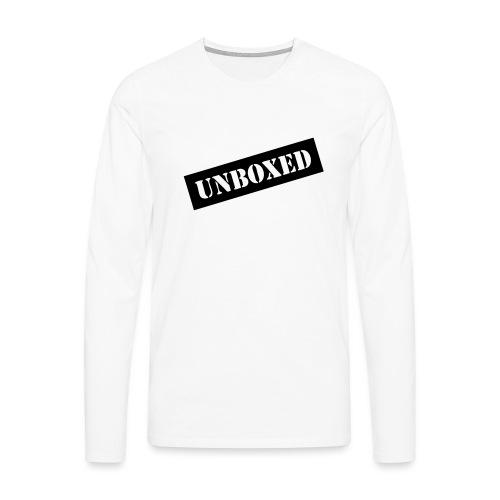 Get UNBOXED now!! by Brilliant Voices - Männer Premium Langarmshirt