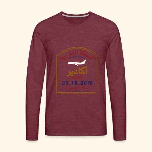 Agadir - T-shirt manches longues Premium Homme