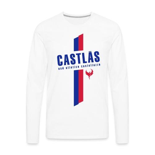 CASTLAS - Maglietta Premium a manica lunga da uomo