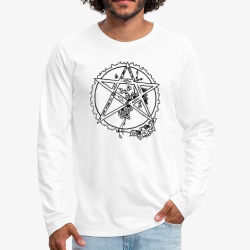 Flowergram - Men's Premium Longsleeve Shirt
