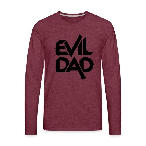 Evildad - Mannen Premium shirt met lange mouwen