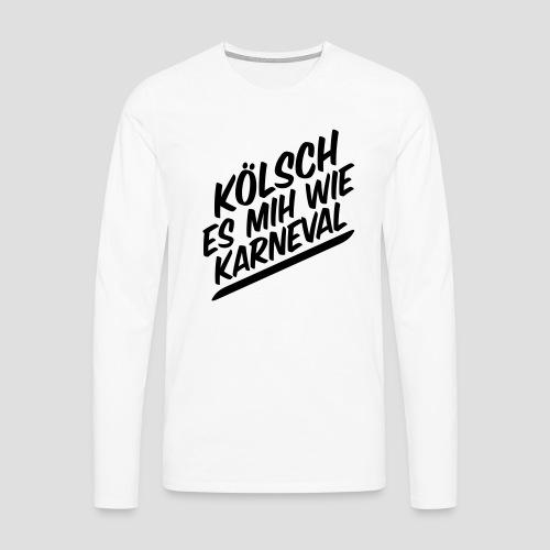 daeHoot Karneval - Männer Premium Langarmshirt