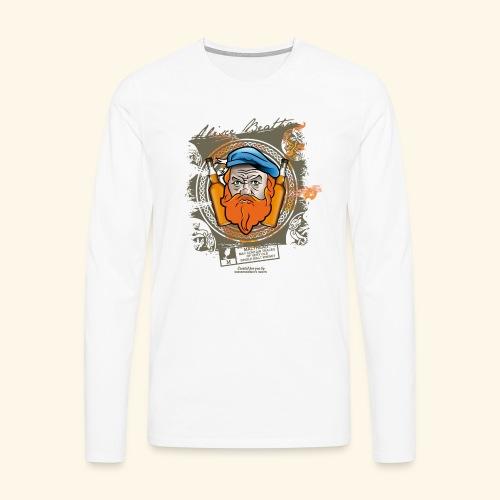 Malthead Whisky T Shirt - Männer Premium Langarmshirt