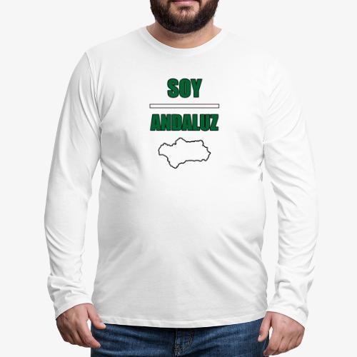 Soy Andaluz - Camiseta de manga larga premium hombre