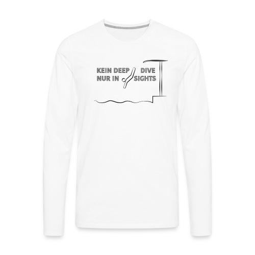 deepdive - Männer Premium Langarmshirt