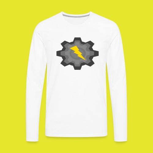 kugg - Långärmad premium-T-shirt herr