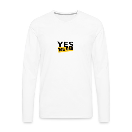 Yes you can - T-shirt manches longues Premium Homme