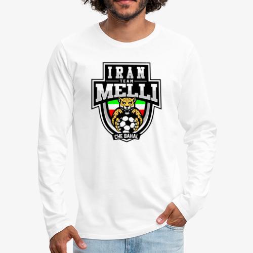 IRAN Team Melli - Männer Premium Langarmshirt
