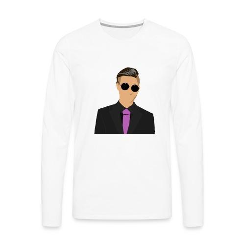 Odenshuge - Miesten premium pitkähihainen t-paita